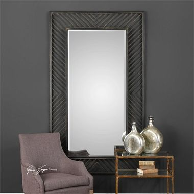 Uttermost Karel Chevron Mirror