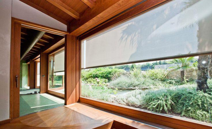 Wooden Windows & Doors Frames #architecture #design #wood #frames #windows #light #house