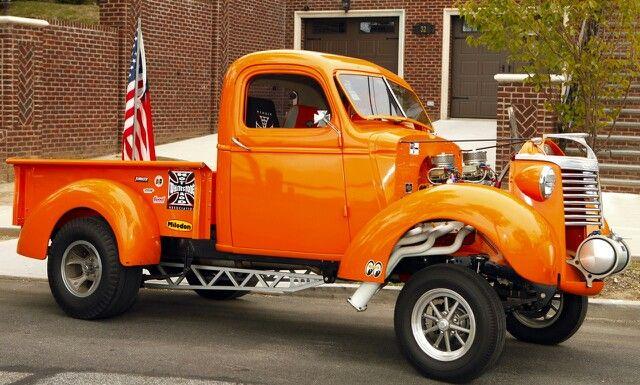 Chevy Gasser Truck.