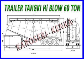 INFO HARGA >> PEMBUATAN TRAILER TANGKI Hi BLOW >> KAROSERI KENKA