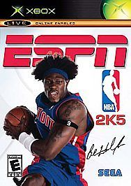 ESPN NBA 2K5 (Microsoft Xbox, 2004) Ben Wallace Detroit Pistons TESTED Game
