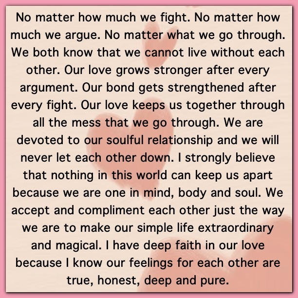 our relationship is strong quotes