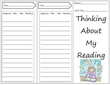 Reading Response Trifold, great tool for students to keep in their book to record their thinking through the week.   FREE1 Teaching, Reading Response, Schools Ideas, Reader Response, Education Schools, Reading Classroom, Classroom Ideas, Response Trifold, Schools Reading