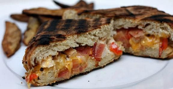 Grilled Chicken Bacon Ranch Panini Recipe