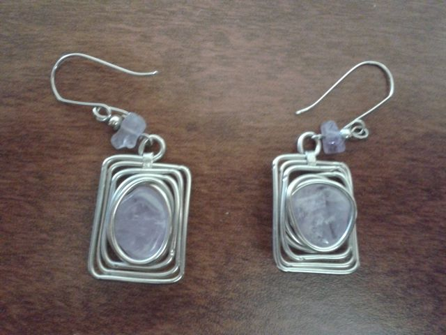 earring handmade peruvian