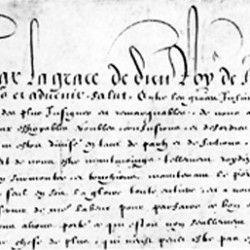 Des guerres de religion à la mort d'Henri IV (1562-1610) | Musée virtuel du Protestantisme ... Edict of Nantes