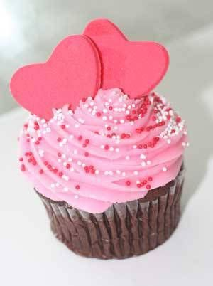 Cupcakes: Valentine'S Cakes, Pink Heart, San Valentines, Valentines Day, Valentine Cupcakes, Heart Cupcake, Valentines Cupcake