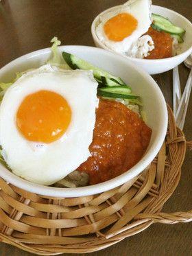 ミートソースでお手軽★ロコモコ丼 by kingdoll [クックパッド] 簡単 ...