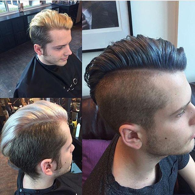 Our Men going Titanium! #greyhair #gentleman #mensfashion #kelowna #kelownasalon #hairjoi #titanium #colorintensity #joico #menscuts  Hair @hair.by.amandajess