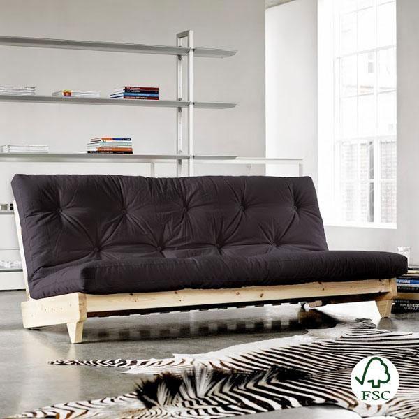 Las 25 mejores ideas sobre sof s de color gris oscuro en pinterest decoraci n sof gris sof for Sofa moderne marron gris