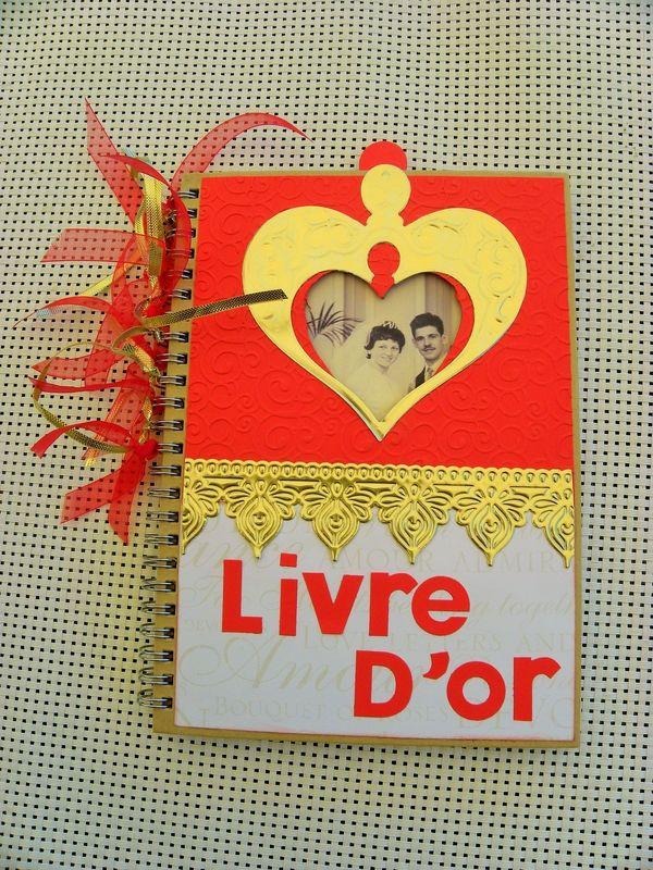 Livre d'or noces d'or