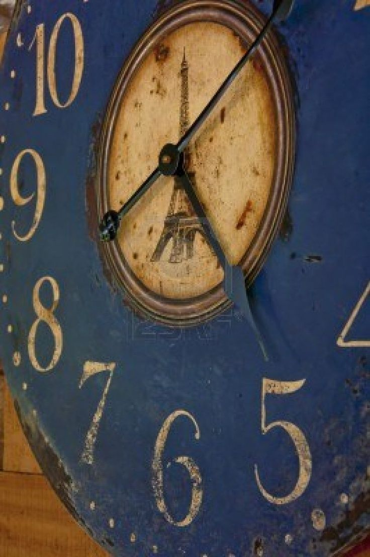 78 best timeless collection clocks images on pinterest wall vintage old blue clock closeup amipublicfo Image collections
