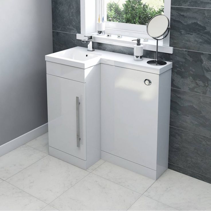 Click here to find out more about the Orchard MySpace white left handed unit including concealed cistern - £349
