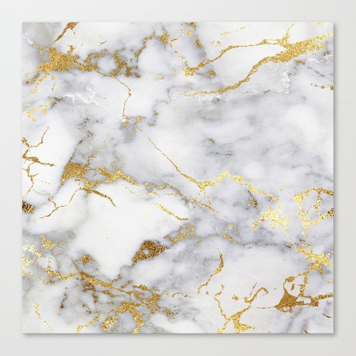 Buy Italian Gold Marble Canvas Print By Hunterofwoods Worldwide Shipping Available At Society6 Com Just One Of Gold Marble Gold Marble Wallpaper Italian Gold