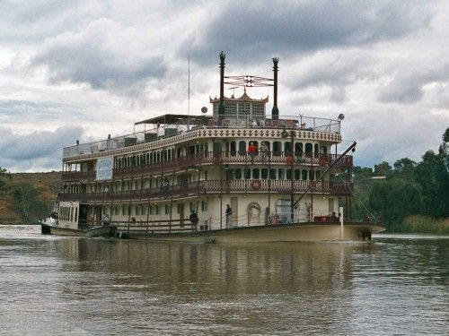 Murray River Princess Paddle steamer - Mannum, South Australia