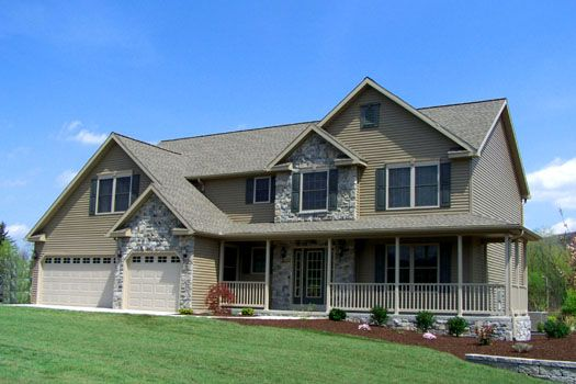 Two Story Model Home Located in Athens, PA - The Meridian