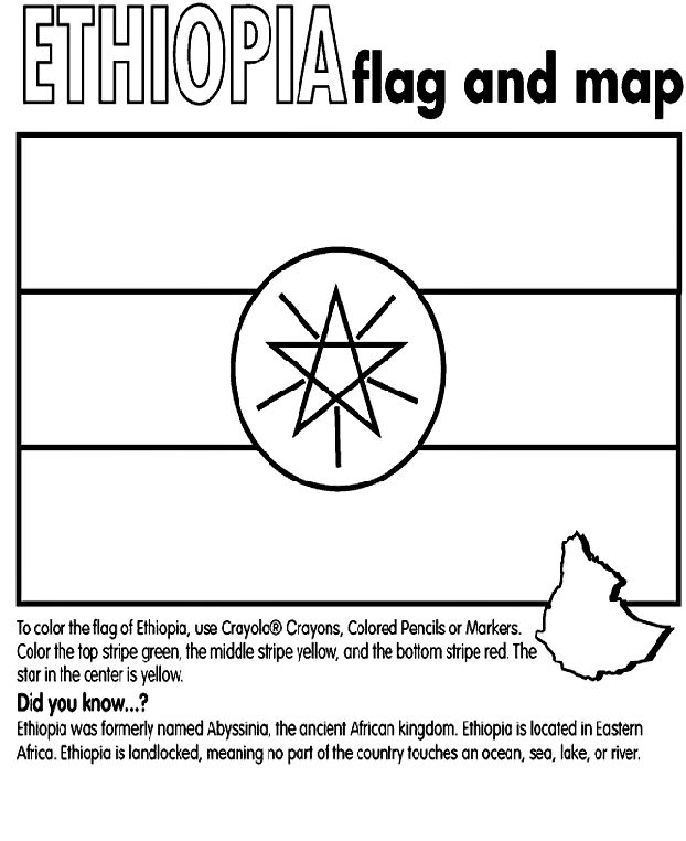 foreign flags coloring pages - photo#22
