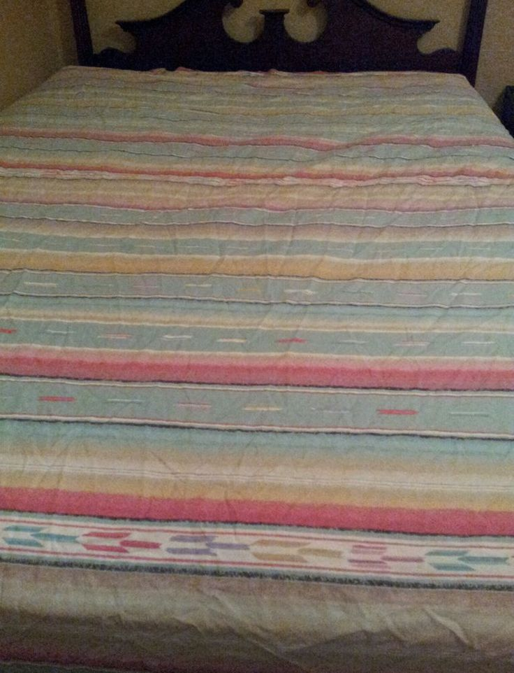 Ralph Lauren Hawk Springs Queen Flat and fitted Sheet aztec southwestern pattern #RalphLauren