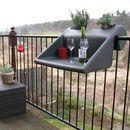 Balkon Design - balcony table design