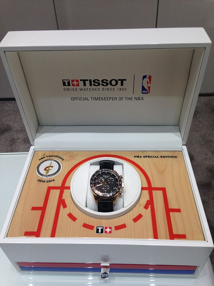 Tissot Releases the Official Cleveland Cavaliers NBA Championship Watch