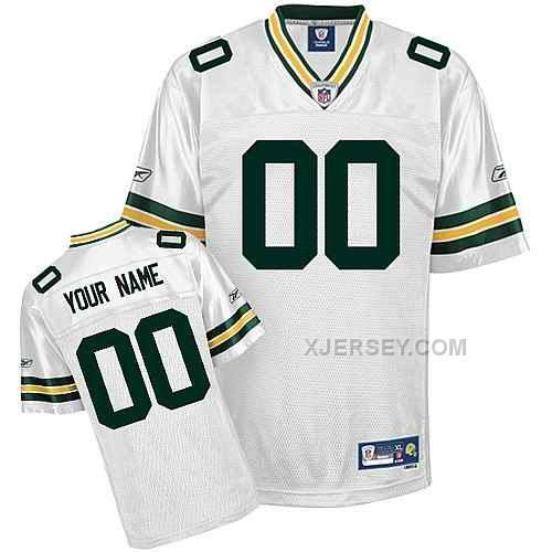 http://www.xjersey.com/green-bay-packers-men-customized-white-jersey.html GREEN BAY PACKERS MEN CUSTOMIZED WHITE JERSEY Only $75.00 , Free Shipping!