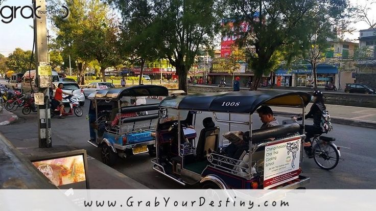 Morning Walk Through Chiang Mai... We Love This City #Travel #GrabYourDestiny #JasonAndMichelleRanaldi #ChiangMai #Thailand #MorningWalkInChiangMai #DigitalNomads  www.GrabYourDestiny.com