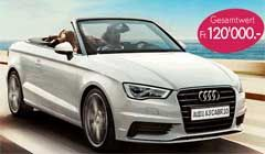 Gewinne ein #Traumauto! Mit Yves Rocher und ein wenig Glück kannst Du 3 x ein #Audi A3 Cabrio oder whalweise CHF 40'000 #Bargeld gewinnen. Ausserdem warten 3 Beauty Pakete mit Schönheits-Lieblingen im Wert von jeweils CHF 200.- auf Dich. http://www.alle-schweizer-wettbewerbe.ch/auto-oder-bargeld