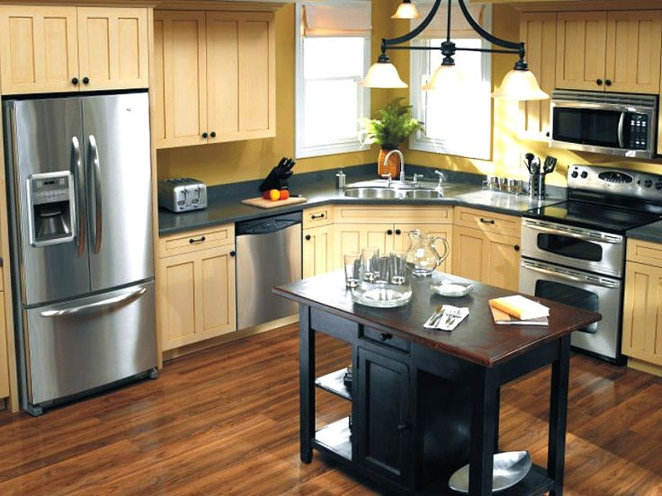 Kitchen Aid Kitchen: Appliances Covers, Stainless Steel Appliances, Idea, Dreams Kitchens, Cabinets Colors, Covers Rolls, Instant Stainless, Kitchens Appliances, Small Kitchens Design