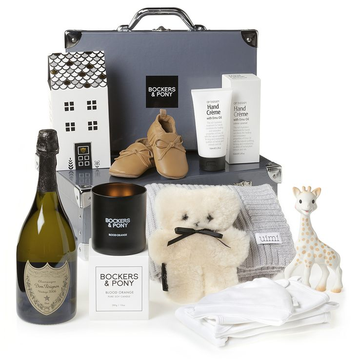 Labour of Love Baby Hamper | Newborn Luxury Baby Gift Hamper | Bockers and Pony