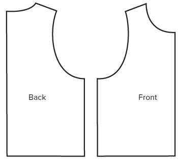 pdf sewing pattern the jersey boxy vest from angela kane for the