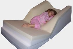 """""""...The ComfyLiftBed is the best solution available for children afflicted with sleep/breathing disorders that can be treated with positional therapy."""" http://www.comfyliftbed.com/"""