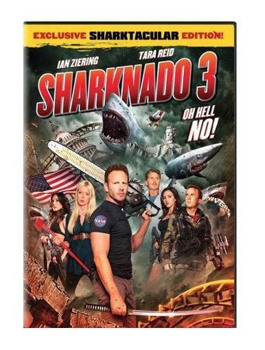 Sharknado 3: Oh Hell No! (DVD, 2015) PRE-ORDER 10/6; Tara Reid, Ann Coulter ***** Sharknado 3: Oh Hell No! is an American disaster horror sci-fi television film and the third installment in the Sharknado series, following Sharknado 2: The Second One. It premiered on Syfy on July 22, 2015.[1] The film was directed by Anthony C. Ferrante with Ian Ziering, Tara Reid, and Mark McGrath reprising their roles from the previous installments. Joining the cast are David Hasselhoff and Bo Derek.