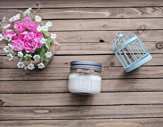 4 oz. Spring Cleaning  Soy Candle Scented Candle Jar Candle