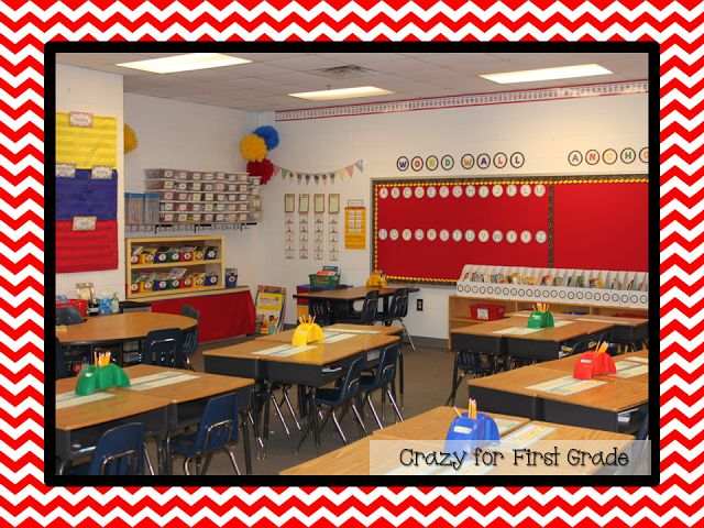 Primary Classroom Decoration : Great minimalist classroom st grade
