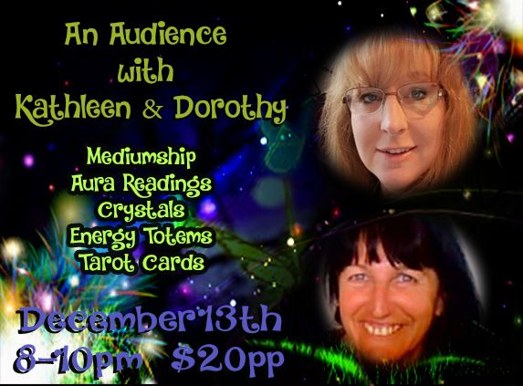 An Audience with Kathleen and Dorothy – Energy Therapies