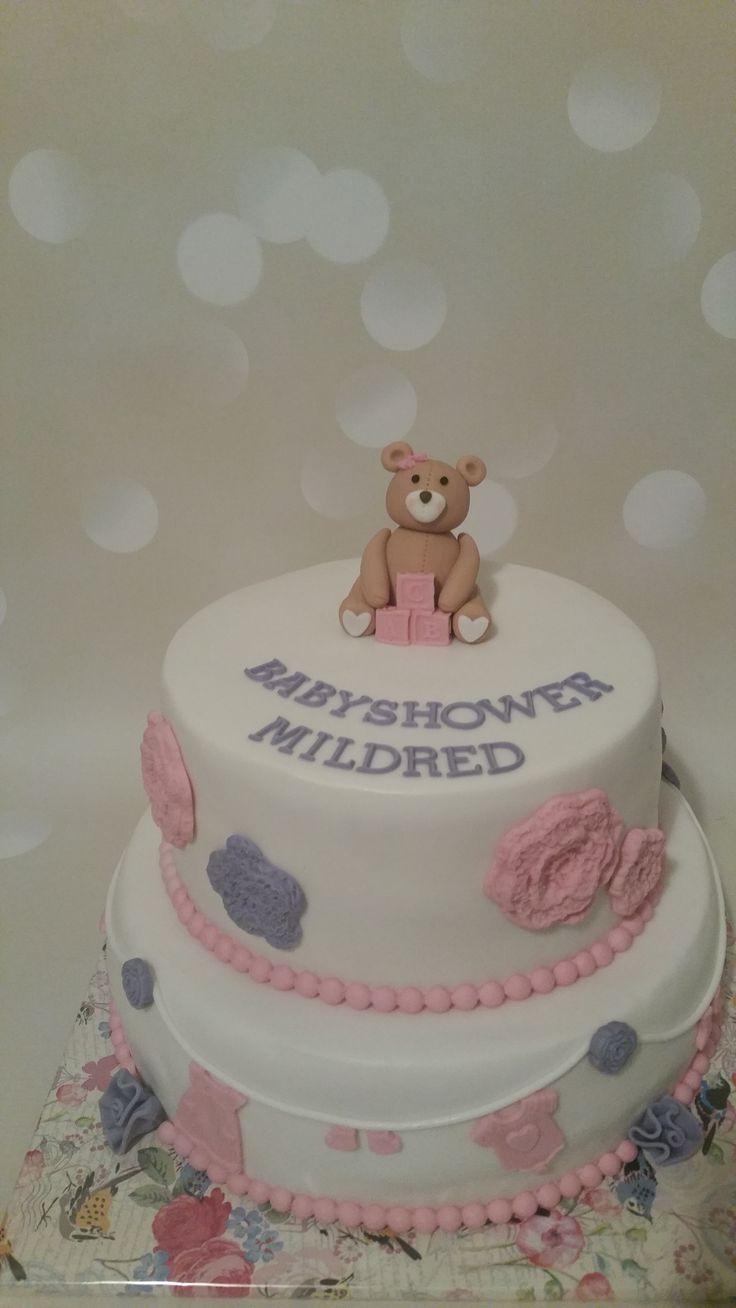 #babyshower taart