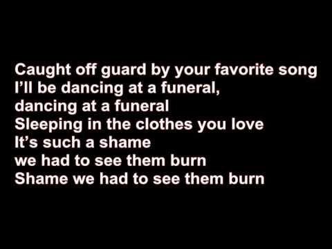 Bastille - Good Grief lyric   I think it's a little creepy...