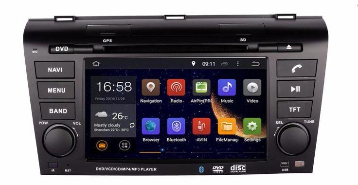RAM 2GB Android 7.1 Fit MAZDA 3 MAZDA3 2004 2005 2006 2007 - 2009 CAR DVD player Multimedia Navigation GPS NAVI Radio STEREO DVD #Affiliate