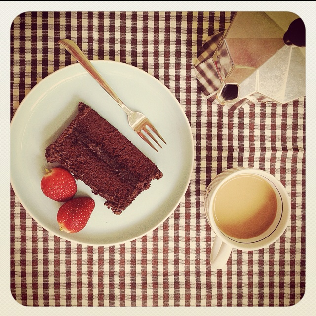 Extra Dark Chocolate cake with coffee | Foods | Pinterest | Chocolate ...
