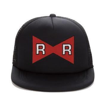 Dragon Ball Android 13 Red Ribbon Logo Cool Trucker Hat  #DragonBall #Android13 #RedRibbonLogo #CoolTruckerHat