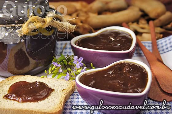 Geleia de Tamarindo Caseira » Doces e sobremesas, Receitas Saudáveis » Guloso e Saudável