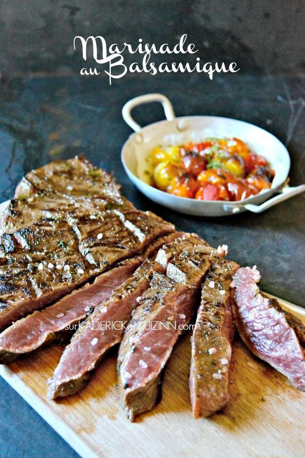 Paleron boeuf - Paleron mariné balsamique et grillé à la plancha sur kaderickenkuizinn.com