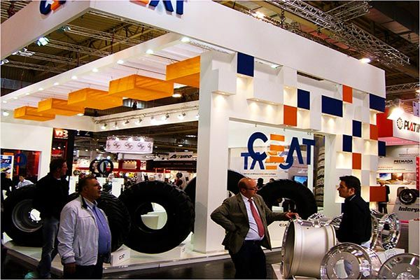Insta Exhibition Stall Pvt Ltd : Exhibition stall for ceat tyres are you searching
