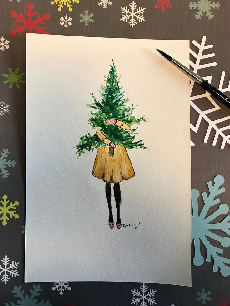 Christmas Cards 2020 Christmas In 2020 Christmas Drawing Painted Christmas Cards Christmas Cards Handmade