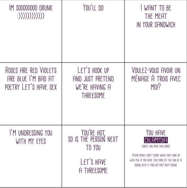 There Is A Brilliant New Card Game About Group Sex ...for if we ever get bored of Cards Against Humanity?