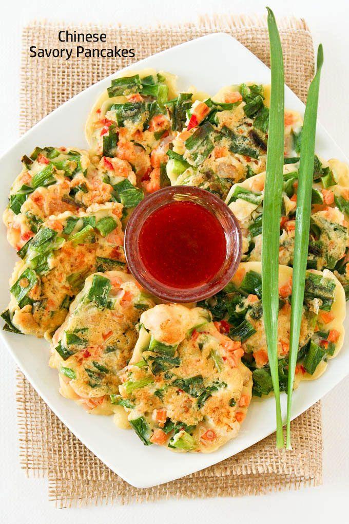 Best 25 savory pancakes ideas on pinterest zucchini potato chinese savory pancakes chinese foodchinese side disheschinese forumfinder Gallery