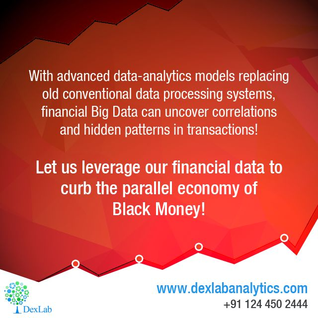 Advancement in #DataAnalytics Tools is Helping in Stopping the Circulation Black Money
