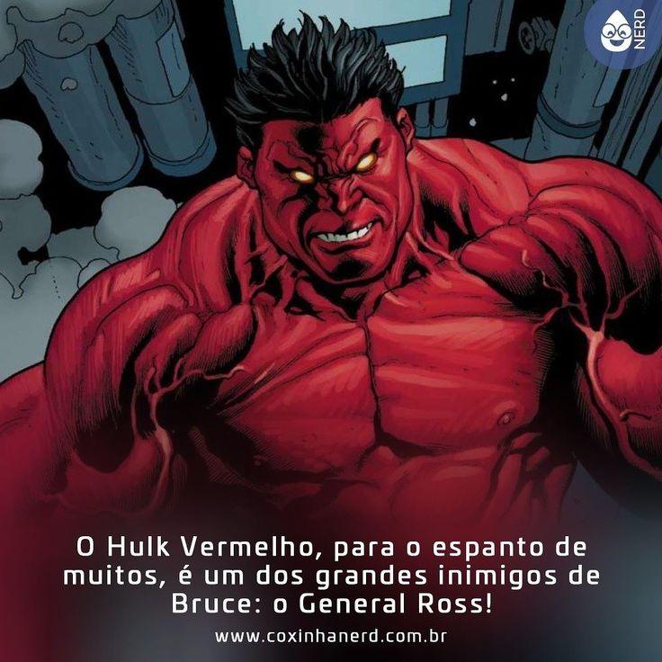 #CoxinhaCuriosa E tão assustador quanto o Verdão!!   #TimelineAcessivel #PraCegoVer  Imagem Hulk Vermelho com a legenda:O Hulk Vermelho para o espanto de muitos é um dos grandes inimigos de Bruce: o General Ross!   TAGS: #coxinhanerd #nerd #geek #geekstuff #geekart #nerd #nerdquote #geekquote #curiosidadesnerds #curiosidadesgeeks #coxinhanerd #coxinhahqs #hqs #quadrinhos #viciadosemhqs #dicadehq #redhulk #rulk #marvel #brucebanner #thunderboltross