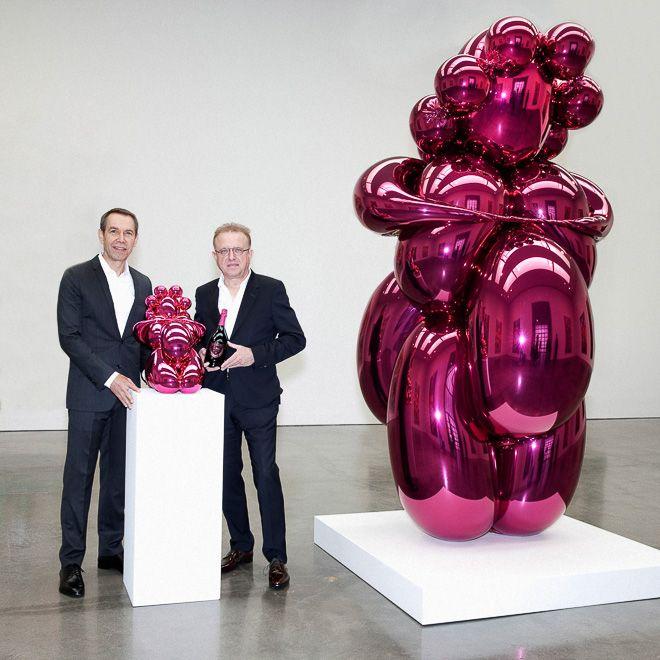 ドン ペリニヨン収納型オブジェクトをジェフ・クーンズが制作 | Fashionsnap.com