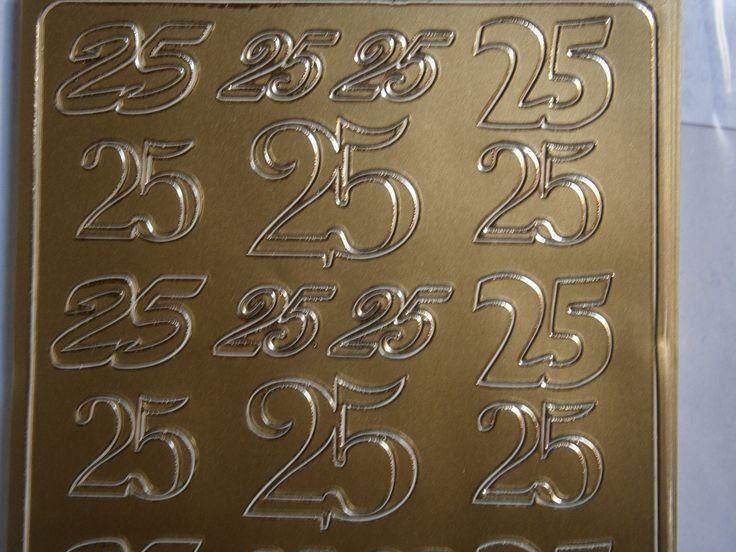 Stickers noces d'argent noces d'argent ou pour les 25 ans : Stickers, autocollants par torcheaumarron
